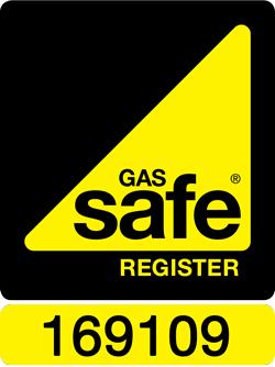 Gas Safe Registered 169109
